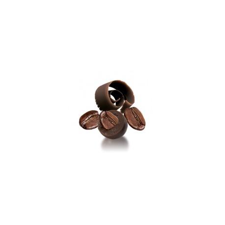Chicco di caffè al cioccolato fondente - di Papa