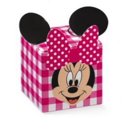 Scatola Cubo Viso Minnie Disney