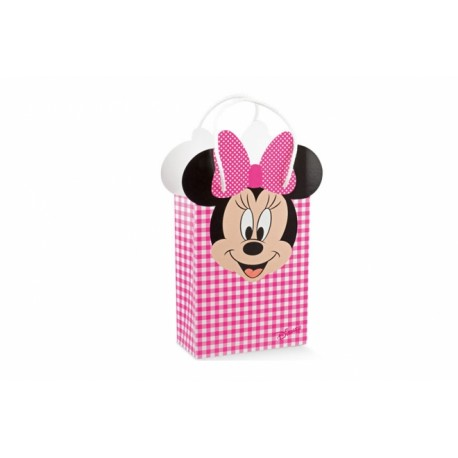 Shopperbox con cordino Mickey/MInnie Disney