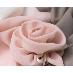 Rosa portaconfetti con swaroski - AD