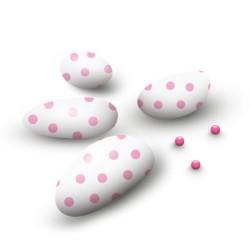 Confetto al cioccolato a pois Rosa