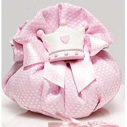 Puffo piquet mazar rosa - RedRose