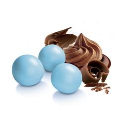 Le Perle al cioccolato al Latte, Celeste - di Papa