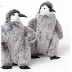 Pinguino in pelliccia sintetica - AD Bomboniere