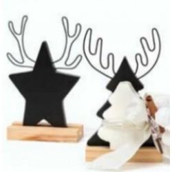 Segnaposto lavagna Natale - AD Bomboniere