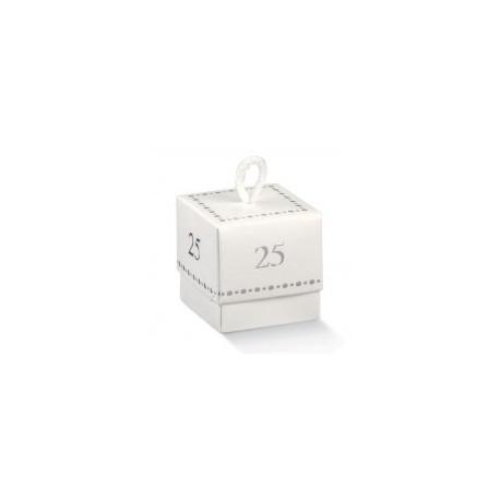 Scatolina Cubo  25 anni - 5x5x5