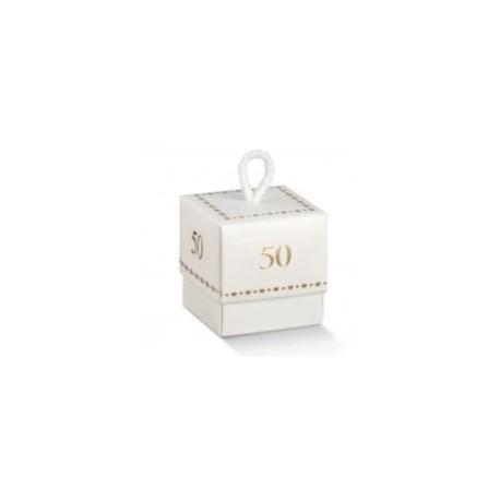 Scatolina Cubo  50 anni - 5x5x5