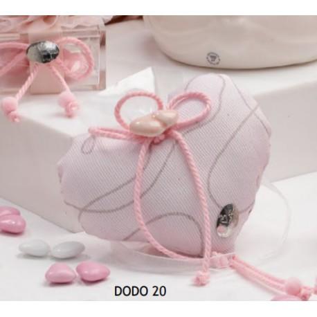 Sacchetto completo in piquet glitterato - Cherry&Peach