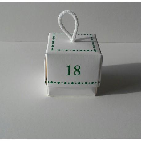 Tortina in PVC 5,5 x5,5 x5