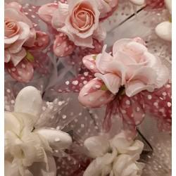 Fiore con Rosa a pois